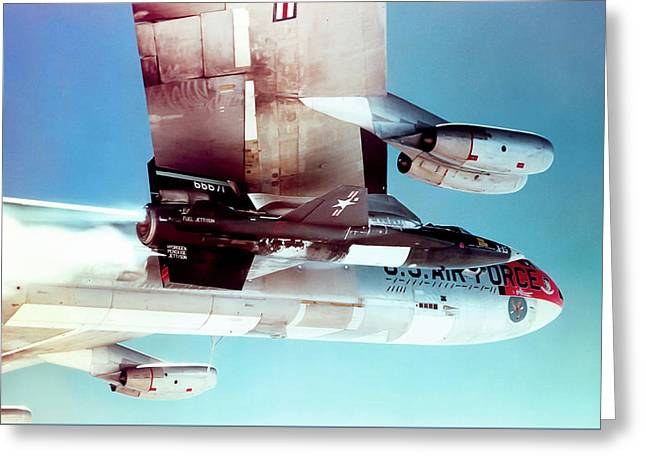X-plane Greeting Cards - X-Men 3 Greeting Card by Peter Chilelli