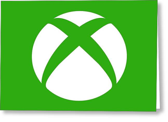 Xbox Greeting Cards - Xbox Live Greeting Card by Drake Glassow