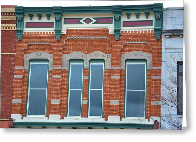 Store Fronts Greeting Cards - Xoxo Greeting Card by Jan Amiss Photography