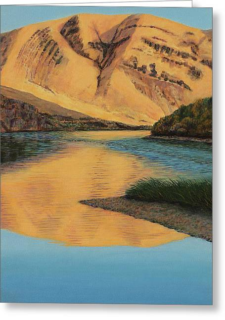 Yakima Canyon Greeting Card by Laurie Stewart