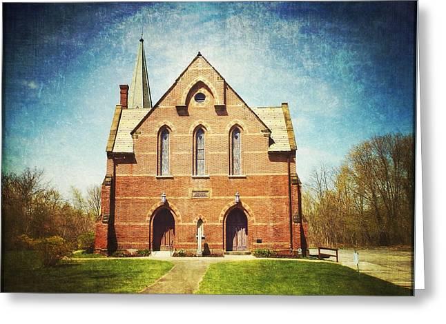 Ye Olde Dutch Church Greeting Card by Natasha Marco