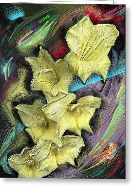 Your Choice Greeting Cards - Yellow Greeting Card by Donald Pavlica