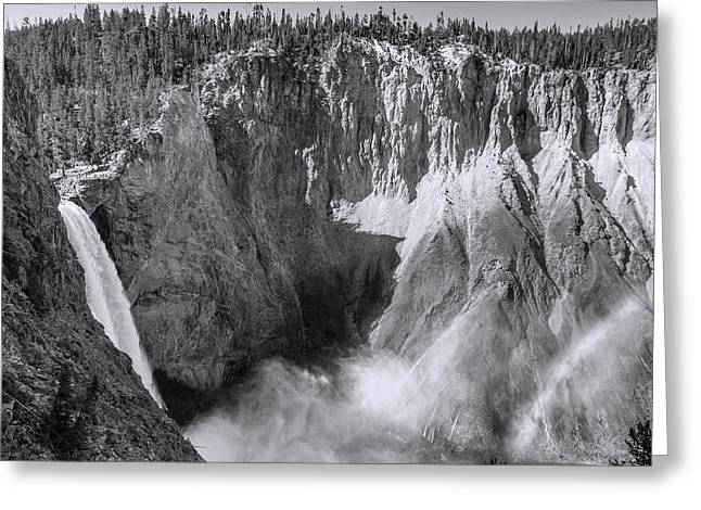 Hot Springs Yellowstone Midway Hot Springs Yellowstone Hot Greeting Cards - Yellowstone 138 Greeting Card by Ingrid Smith-Johnsen
