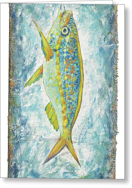 Yellowtail On The Menu Greeting Card by Danielle Perry