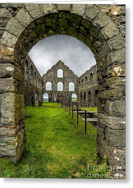 Mills Digital Greeting Cards - Ynysypandy Slate Mill Greeting Card by Adrian Evans