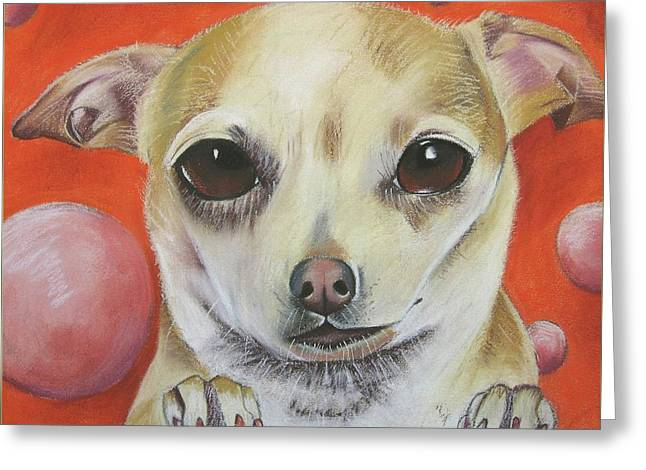 Taco Bell Chihuahua Greeting Cards - Yo Quiero Greeting Card by Michelle Hayden-Marsan
