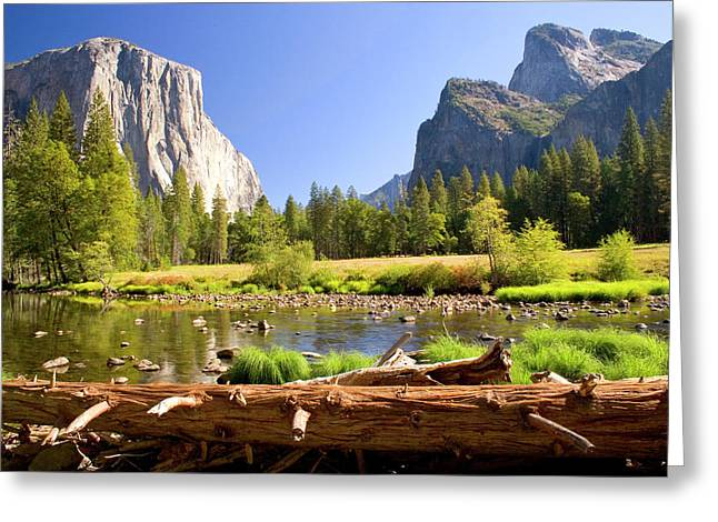 Merced River Greeting Cards - Yosemite  Greeting Card by Craig Sanders