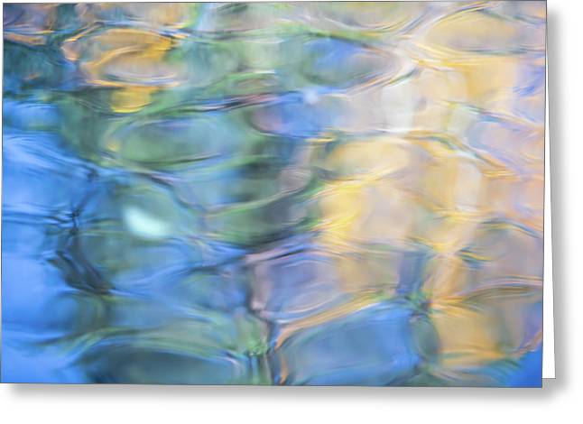 Yosemite Reflections 2 Greeting Card by Larry Marshall