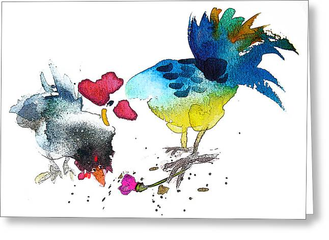 You Are My Sweet Heart Greeting Card by Miki De Goodaboom