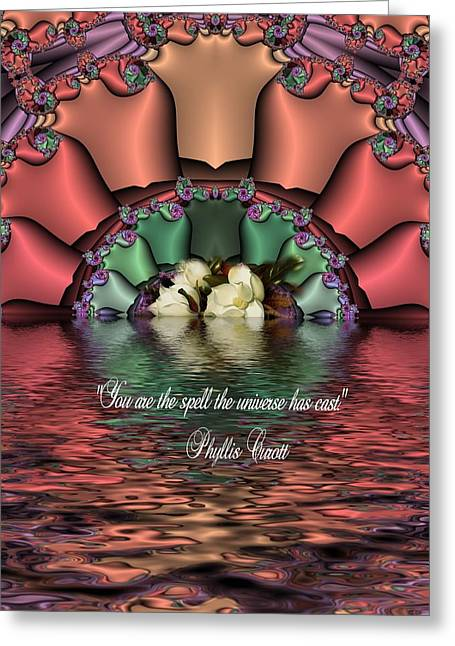 Wiggins Greeting Cards - You Are the Spell Greeting Card by Lea Wiggins