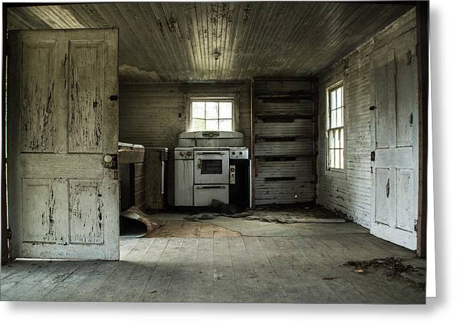 Abandoned House Greeting Cards - You Can Never Go Home Again Greeting Card by Molly Grabill