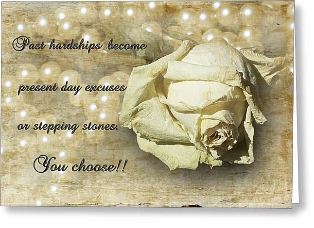 You Choose Greeting Card by Phyllis Denton
