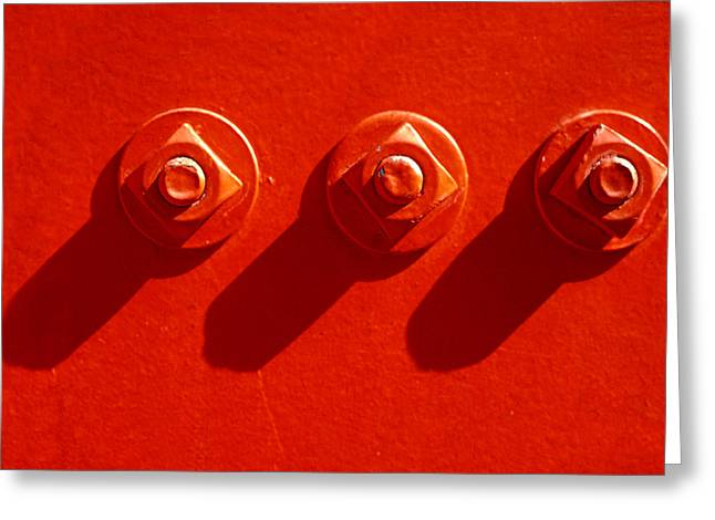 Repetition Greeting Cards - You Guys Are Nuts Greeting Card by Paul Wear