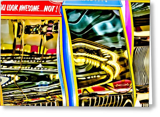 Casino Pier Greeting Cards - You Look Awesome...Not Greeting Card by Colleen Kammerer