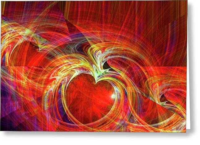 You Make Me Feel Whole Greeting Card by Michael Durst