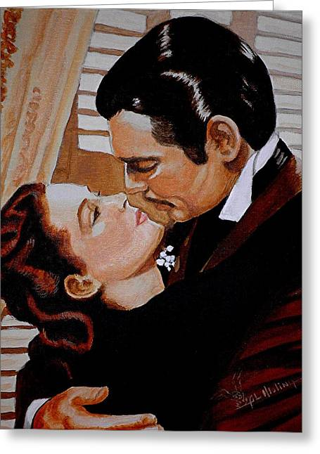 With Love Greeting Cards - You need Kissing Badly Greeting Card by Al  Molina