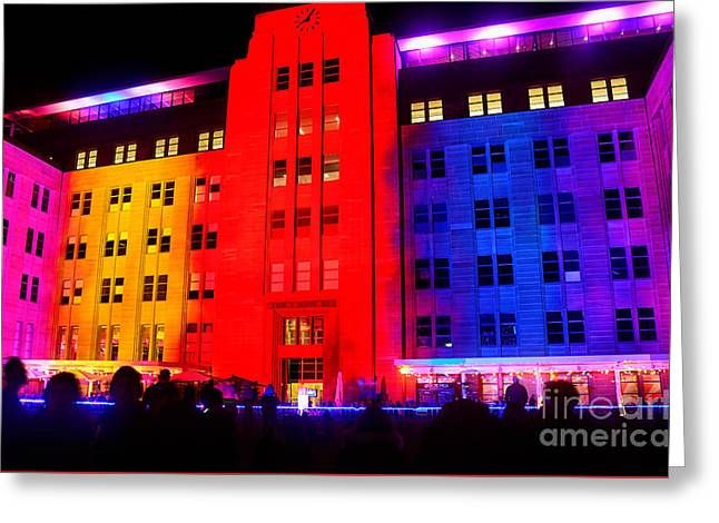 Fluorescent Yellow Greeting Cards - You Want Color - Vivid Sydney by Kaye Menner Greeting Card by Kaye Menner