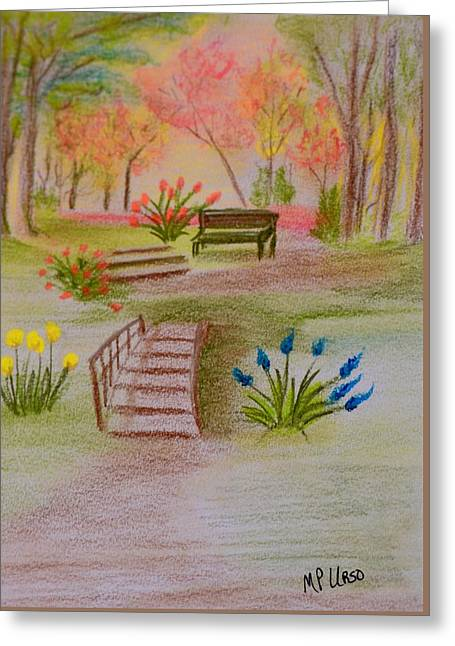 You Were There Greeting Card by Maria Urso