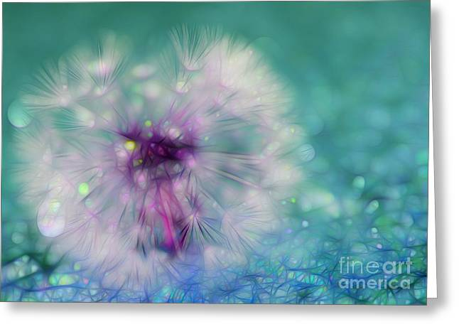 Your Wish Will Come True Greeting Card by Krissy Katsimbras
