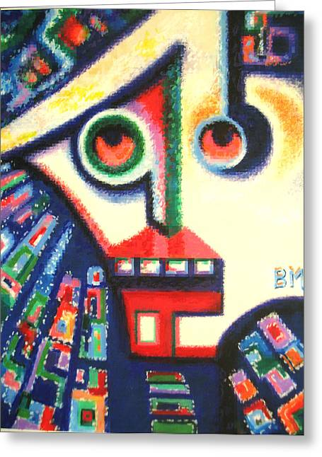 Visage Bleu Greeting Cards - Young And Impressionable Greeting Card by Bill Meeker