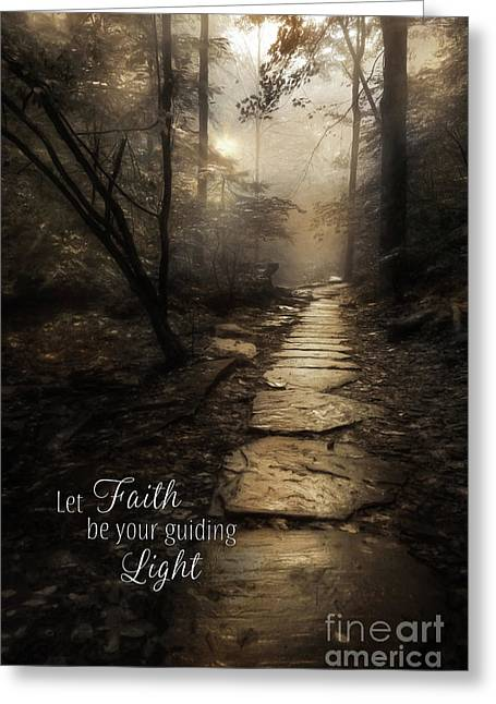 Your Guiding Light Greeting Card by Lori Deiter