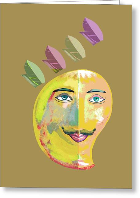 Your Highness A Greeting Card by Thecla Correya