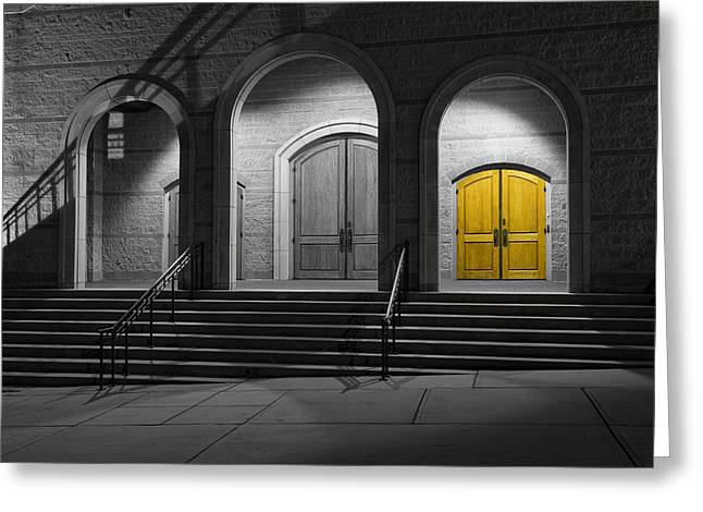 Best Sellers -  - Wooden Stairs Greeting Cards - Youre Invited In Greeting Card by Steve Shockley