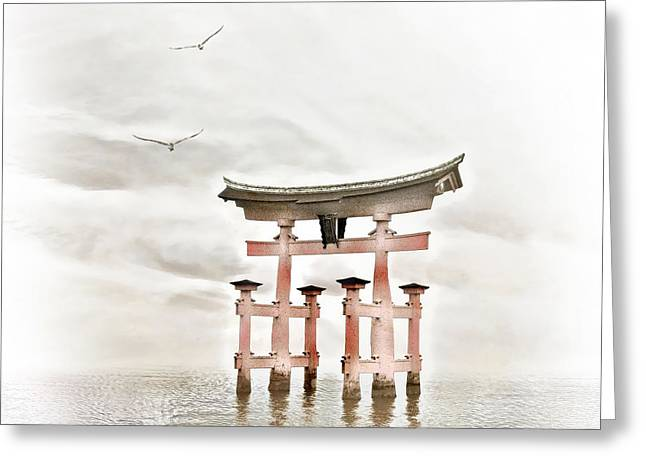 Zen Greeting Card by Photodream Art