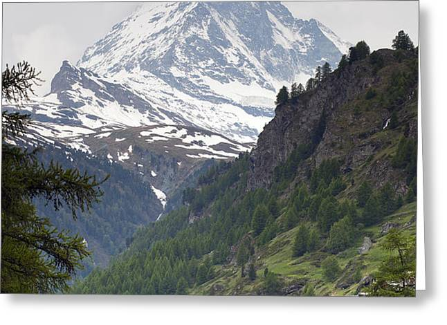 Zermatt Greeting Card by Andre Goncalves