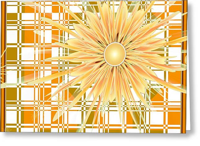 Michelle Greeting Cards - Zinnia Greeting Card by Michelle H