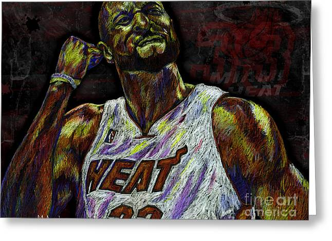 Championship Drawings Greeting Cards - Zo Greeting Card by Maria Arango