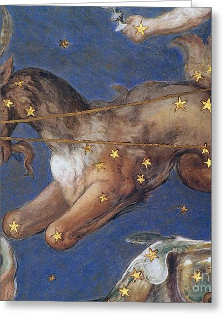 Constellation Greeting Cards - Zodiac: Capricornus, 1575 Greeting Card by Granger