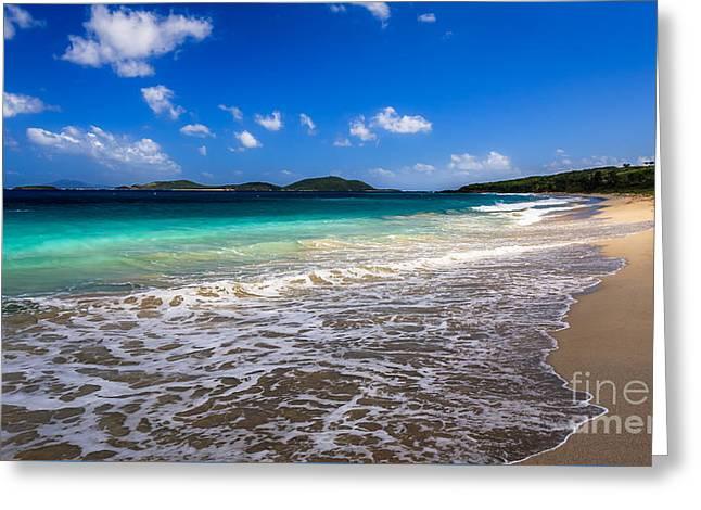 Culebra Greeting Cards - Zoni Beach Puerto Rico Greeting Card by Ernesto Ruiz