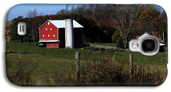 Amish Community Photographs Galaxy S4 Cases -             Bull Hill Galaxy S4 Case by R A W M
