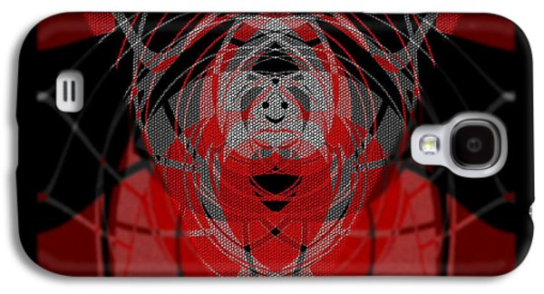 Abstract Digital Galaxy S4 Cases -  374  Light optimisme .... Galaxy S4 Case by Irmgard Schoendorf Welch