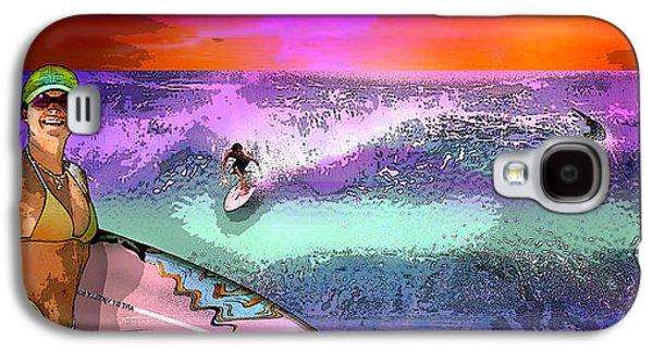 Beach Landscape Galaxy S4 Cases - # 57 Galaxy S4 Case by Vjkelly Artwork