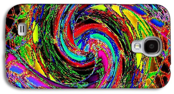 Abstract Fusion Galaxy S4 Cases -  Abstract Fusion 215 Galaxy S4 Case by Will Borden