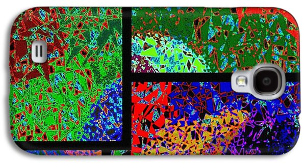 Abstract Fusion Galaxy S4 Cases -  Abstract Fusion 86 Galaxy S4 Case by Will Borden