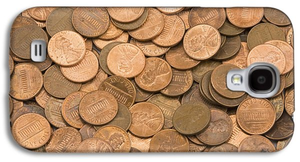Investment Galaxy S4 Cases -  American Pennies Galaxy S4 Case by Keith Webber Jr