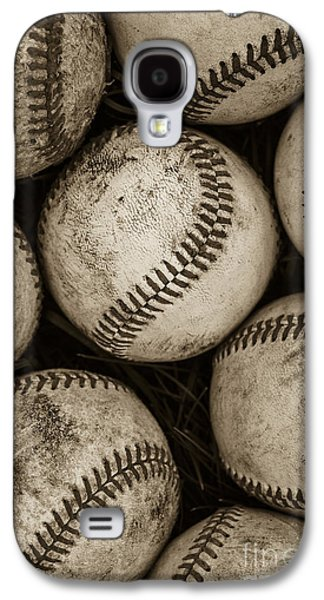 Recently Sold -  - Sports Photographs Galaxy S4 Cases -  Baseballs Galaxy S4 Case by Diane Diederich