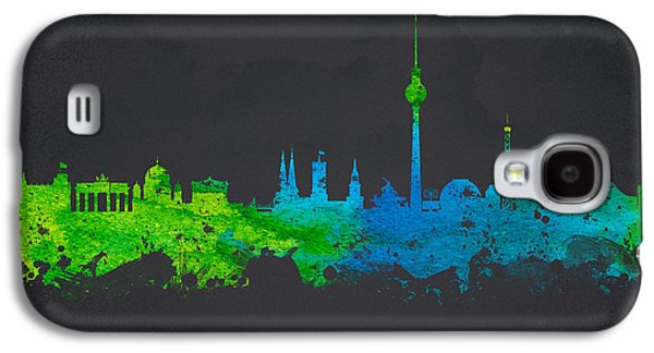 Architecture Mixed Media Galaxy S4 Cases -  Berlin Germany Galaxy S4 Case by Aged Pixel