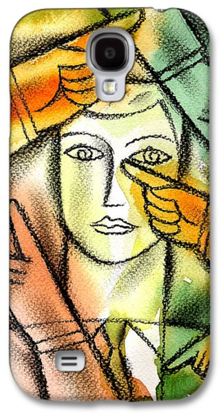 Enterprise Paintings Galaxy S4 Cases -  Bureaucracy  Galaxy S4 Case by Leon Zernitsky