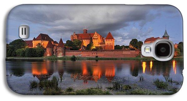 A Summer Evening Landscape Galaxy S4 Cases -  Castle Galaxy S4 Case by Jan Sieminski