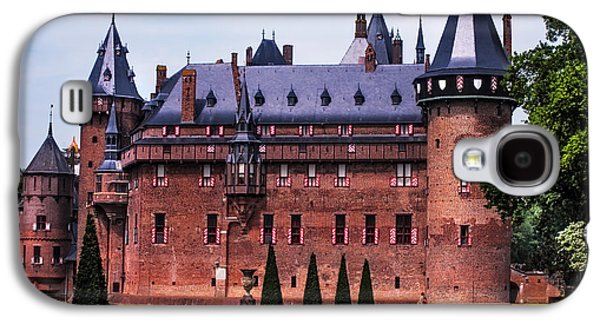 Garden Scene Galaxy S4 Cases -  De Haar Castle 4. Utrecht. Netherlands Galaxy S4 Case by Jenny Rainbow