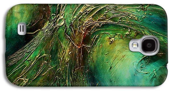 Recently Sold -  - Abstract Movement Galaxy S4 Cases -  Emerald Pass  Galaxy S4 Case by Michael Lang