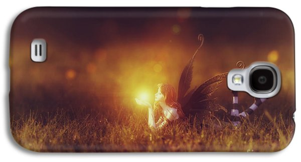 Fantasy Photographs Galaxy S4 Cases -  Faerie Light  Galaxy S4 Case by Tim Gainey