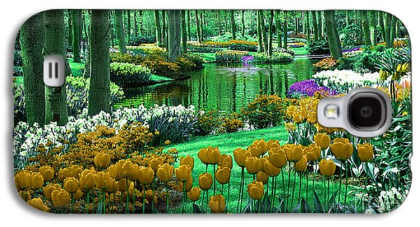 Flower Garden Of Love Galaxy S4 Case by Marvin Blaine