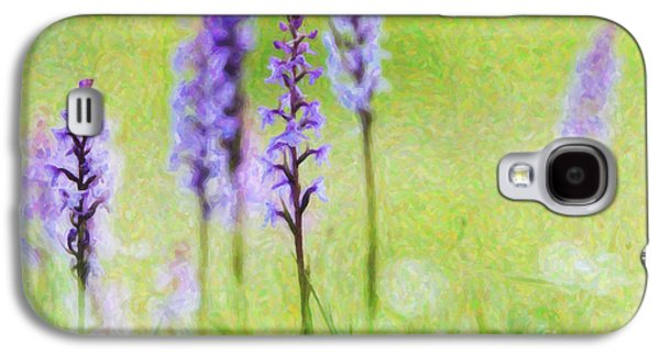 Fragrant Orchids Galaxy S4 Case by Tim Gainey