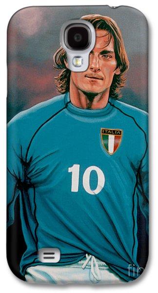 All-star Galaxy S4 Cases -  Francesco Totti Italia Galaxy S4 Case by Paul  Meijering
