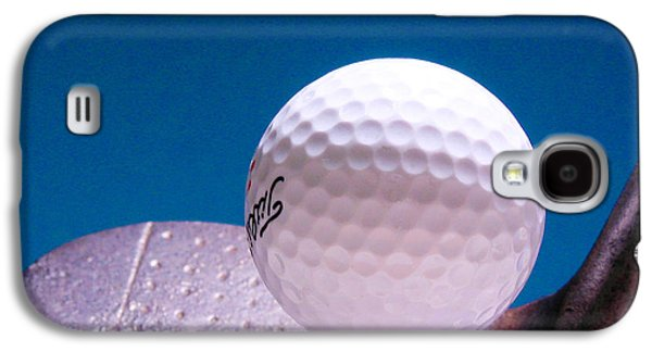 Sports Photographs Galaxy S4 Cases -  Golf Galaxy S4 Case by David and Carol Kelly